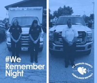 EMS agency calls on others to participate in 'We Remember Night'