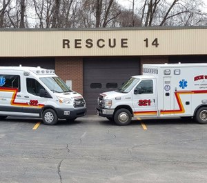 Rescue 14 in Adamsburg, Pennsylvania has collected $20,000 by filing theft charges against patients who receive insurance checks but don't pay their ambulance bill. (Photo/Adamsburg VFD)