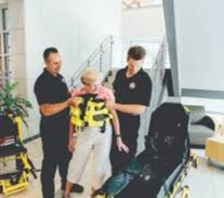 Using soft stretchers for patient lifting has exposed many providers and patients to a higher risk for injury. (image/Binder Lift)
