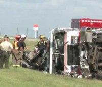 Fire truck, car collision kills 2