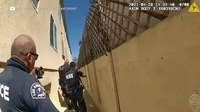 Video shows aftermath of off-duty LAPD officer shot with his own service weapon