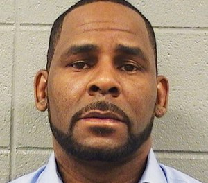 Pictured is R. Kelly.