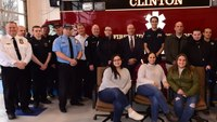 Driver who suffered heart attack reunites with first responders who saved her