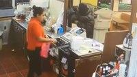 Video: Restaurant customer shoots armed robber through drive-thru window