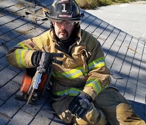 Lt. Robby Brannon was diagnosed with stage 4 cancer in June. (Photo/GoFundMe)