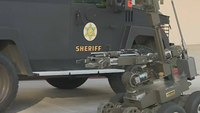 LA deputies use robot to snatch rifle from barricaded suspect, end standoff