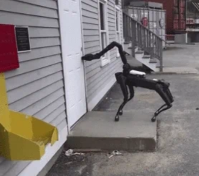 MA police have been quietly testing a robot dog