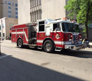 The Rockford Fire Department has raised more than $100,000 offering fire truck repair services to other departments. (Photo/Rockford Fire Department Facebook)