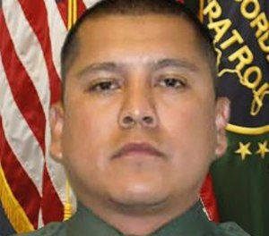 "Agent Rogelio ""Roger"" Martinez, 36, suffered serious injuries the night of Nov. 18 while patrolling outside of Van Horn. (Photo/U.S. Customs and Border Protection)"