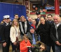 9/11 EMT battling cancer gets motorized wheelchair