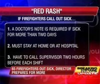 Memphis firefighters call in sick to protest cuts