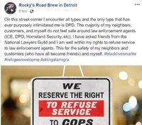 Police chief: Detroit food truck owner who refuses to serve LEOs has been 'hostile' in past