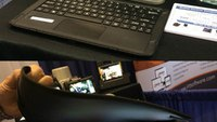 R12 rugged tablet designed with cops' workflow in mind