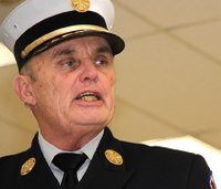 NY fire chief spars with city as retirement nears