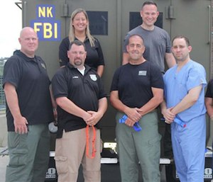 """The team is partnering with EMS providers from University Hospital to conduct the largest """"Stop the Bleed"""" campaign in the state."""