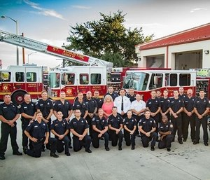 The St. Augustine Fire Department recently added a supply of body armor and helmets to each of their trucks.