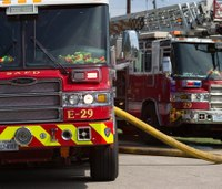 Texas firefighter suspended for taking civilians on fire truck joyride