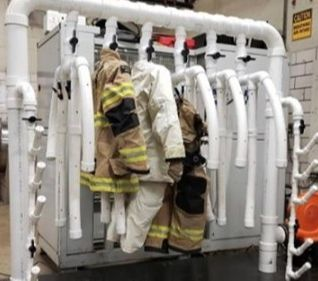 Ohio firefighters build dryer that