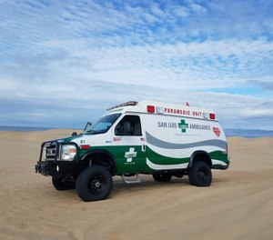 The group also concluded that the county is well-served through it's contracts with Cal Fire and San Luis Ambulance Service. (Photo/ San Luis Ambulance Inc.)