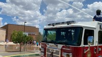 NM man steals fire truck after hitching ride with firefighters