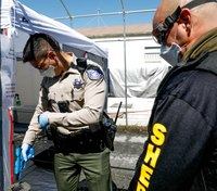 Calif. police, first responders get on-site COVID-19 decontamination station