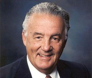Senator Paul S. Sarbanes. (Photo/Congressional Fire Services Institute)