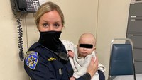 Calif. LEOs rescue baby from highway