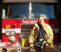 Mich. firefighters honor fallen brother at stair climb