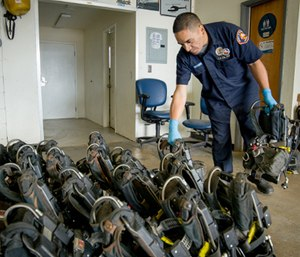 Regular and thorough inspection is critical to SCBA performance.