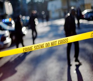 Tablets and documentation apps can help capture data from crime scenes. (Image AP)