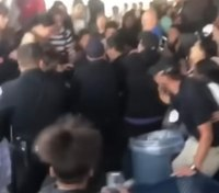 About 80 students involved in brawl with police at Calif. high school