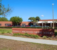 Fla. sheriff fires deputy whose gun discharged in school cafeteria