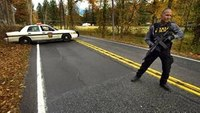 Search shifts after possible sighting of Pa. ambush suspect