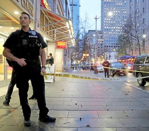 After a fatal shooting downtown, Seattle officials are considering installing a downtown storefront for police to provide resources and protection. (Photo/TNS)