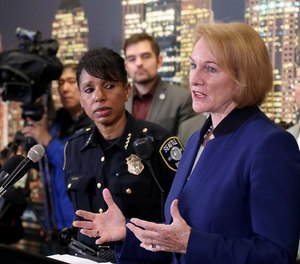 After Wednesday's shooting that killed 1, injured 7, Seattle Police Chief Carmen Best, left, and Mayor Jenny Durkan spoke to media Thursday about plans the city has outlined to curb ongoing gun violence in the city.