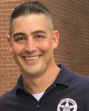 U.S. Marshals Senior Inspector Jared Keyworth died days after he was involved in a car crash while on duty.