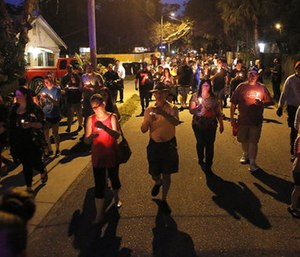 Three people have been shot to death in the past two weeks within a 1-mile radius in the normally quiet Seminole Heights neighborhood. (Photo/AP)