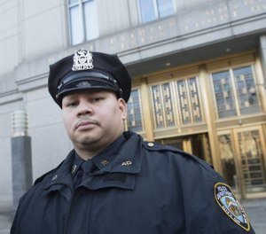 A judge ruled the NYPD destroyed evidence when Officer Pedro Serrano's notes detailing alleged departmental racism were destroyed. (Photo/TNS)