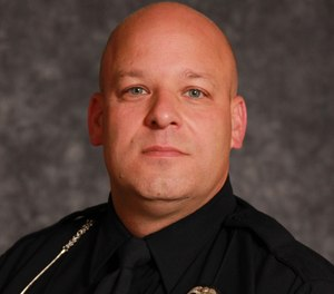 Sgt. Steven Splan, 46, suffered a fatal heart attack hours after he helped remove a tree that was blocking a roadway August 2 in Bloomfield Hills, Mich.