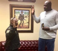 Shaquille O'Neal sworn in as Ga. deputy
