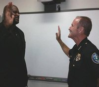 Shaq returns to the force as reserve officer in Fla.