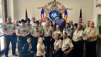 Shaquille O'Neal sworn in as honorary deputy at La. sheriff's office