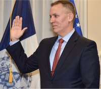 New NYPD commissioner preaches prevention, professionalism
