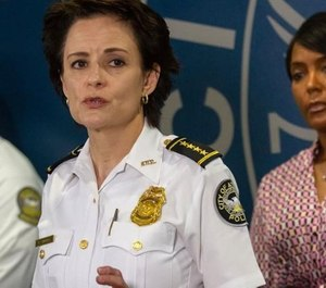 Atlanta Police Chief Erika Shields said she believes the charges against Atlanta police officer were politically motivated. (Photo/TNS)