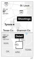 8 shot to death, including gunman, in Mo. rampage