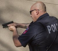 Using federal grants to purchase firearms simulation technology