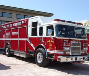 In Chula Vista, firefighters and paramedics respond to low-priority 911 calls even though less than one percent of those calls require emergency medical services.