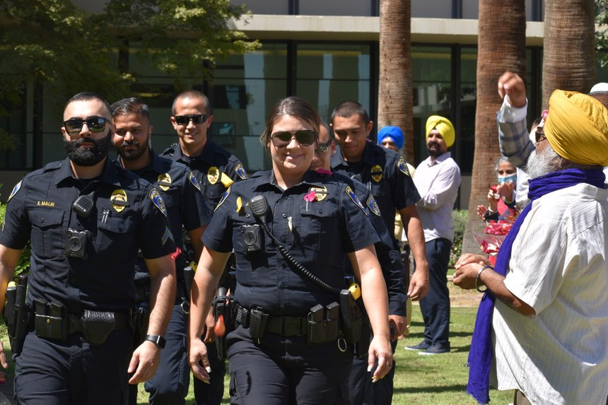 Residents see the officers at their local temples, attending community events, or on the scene on a service call and when they hear them speak Punjabi – it's a game changer.