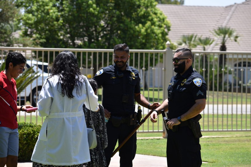 Officer Singh and Detective Malhi have become an intricate part of the Sikh/Punjabi community in Bakersfield.