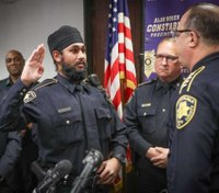 Houston's first Sikh deputy constable sworn in